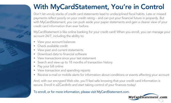 My Card Statement